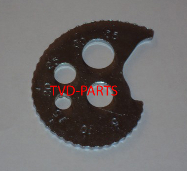 Chain adjuster plate MTX-SH