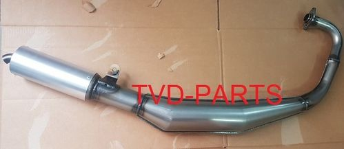 Exhaust Giannelli NSR 50/70cc (clear finish, no paint)