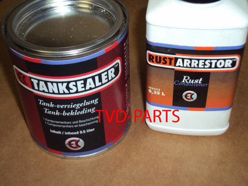 Tank sealer 500 ml and anti rust 250ml