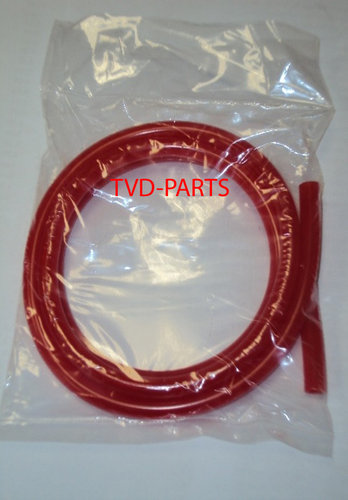 Fuel hose red 1 meter