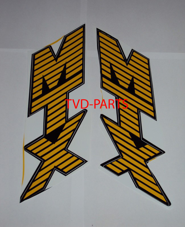 Tanksticker set MTX-sh yellow