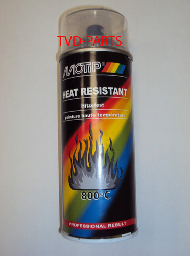 Motip heat proof transparent varnish 400ml
