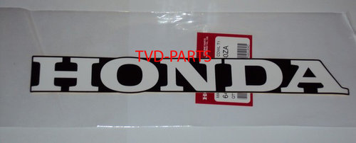 Sticker Honda white/black 28x3,5cm