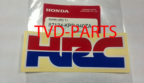 Sticker HRC Honda (110x38 mm)