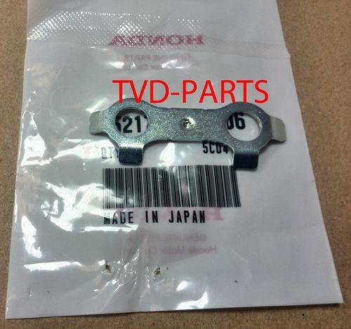 Front brake caliper bolt fixation plate Honda MB50