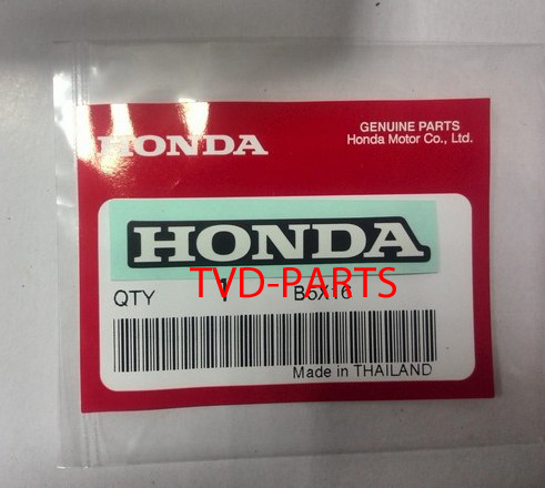 Sticker Honda  wit 50mm