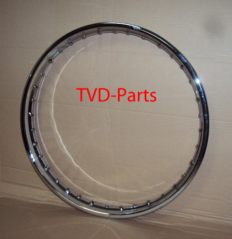 Rim 17 inch x 1.40 chrome Honda MT