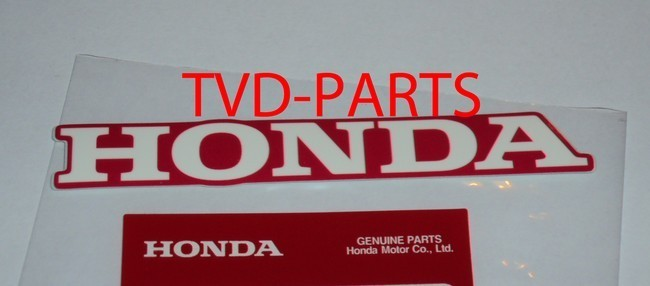 Sticker Honda licht rood Honda MB MT MTX NSR MBX 110mm