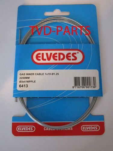 Inner cable gas 2,25m Honda universal Elvedes