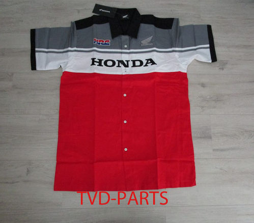 Blouse original Honda red/white/grey size L