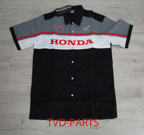 Blouse original Honda black/white/grey size L
