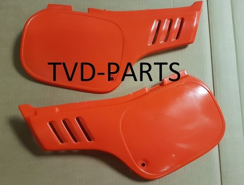 Side covers Honda MTX-sh/r 50/80 R119 orange