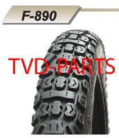 Tire Fortune 18-3.00 cross profile Honda MTX