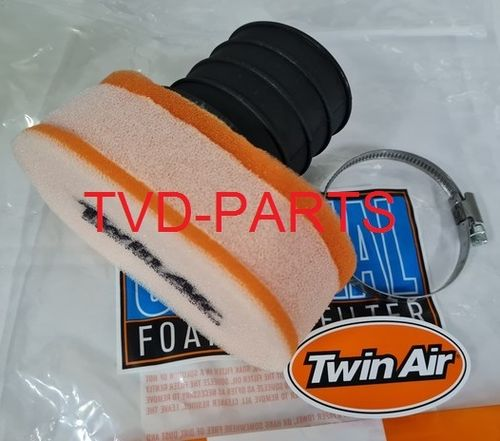 Powerfilter Twin Air 57mm oval shape